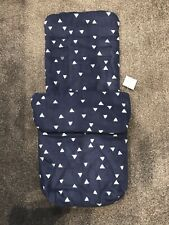 John Lewis Navy Universal Footmuff Puschair Stroller New Cosytoes Cosy Toes BNWT