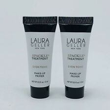 2x Laura Geller Spackle Treatment Even Tone Primer 0.5 oz/15 ml Each New Sealed