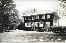 1 of our finest homes Brooklyn IN nice real photo postcard postally used in 1937