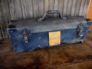1949 Tooling Lathe Field Conduit Pipe Orangeburg Vintage w box instructions