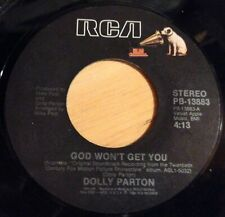 Dolly Parton 45 God Won't Get You / Sweet Lovin' Friends w/Sylvester Stallone