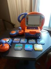 VTech VSmile TV Learning System Bundle with 2 controllers, Art Studio, & 7 Games
