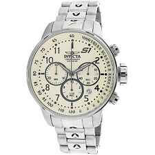Invicta Men's S1 Rally 23077 Silver Stainless-Steel Plated Dress Watch