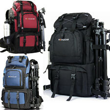Professional Waterproof DSLR Camera Backpack Shoulder Bag Laptop Rucksack Large