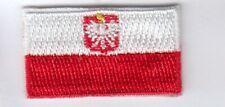 Polen  mini Aufnäher Aufbügler-Patch  Poland,Polska,Polonia,Pologne
