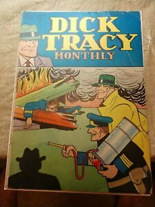 DICK TRACY  MONTHLY 2 - DELL COMICS 1948 G/VG - NICE COPY!