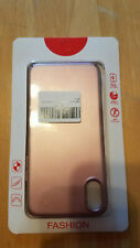 i phone X case hard plastic Rose Pink NEW