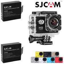 Original SJCAM SJ4000 HD 1080P Cam Sports Action Waterproof Camera 2x Batteries