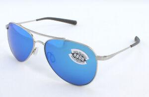 Costa Cook COO21OBMGLP 580G Sunglasses - Palladium/Blue Mirror