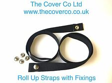 Boat Cover, Roll Up Strap. Marine Fixing