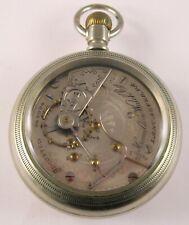 Hamilton Pocket Watch Salesman Sample Glass Back Mvt 926 17J MAFW27