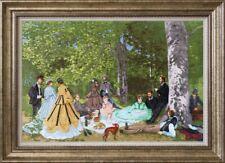Cross Stitch Kit GOLDEN FLEECE MK-057- Luncheon on the Grass. 1866