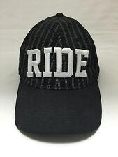 NEW BERSHKA Bassball Cap 58cm M Size Black Hats