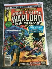 Marvel Comics Group 8 John Carter Warlord Of Mars - High Grade Comic Book  B13-7