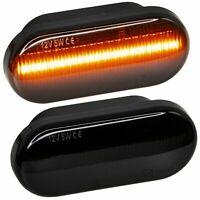 LED SEITENBLINKER schwarz für AMAROK, POLO 6N, 9N, SHARAN, UP  [7428-1]
