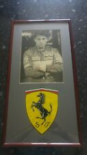 Jean Alesi Signed Framed F1 Photo Autograph