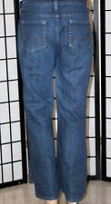 "LEVI'S SIGNATURE Women's Size 12 Short Low Rise Boot Cut Denim Jeans 28"" Inseam"