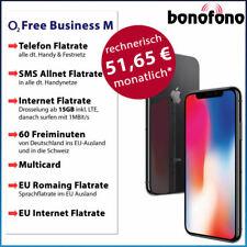 Apple iPhone X 64GB - o2 Free Business M- Allnet Flatrate|SMS|Internet Flat 15GB