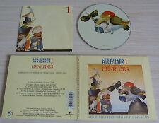 CD ALBUM DIGIPACK LES BELLES HISTOIRES DE POMME D'API HENRI DES 7 TITRES 1991