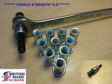 M8 - Heavy Duty High Tensile (12.9)  Rivnut Rivet Nut Nutsert Tool Kit