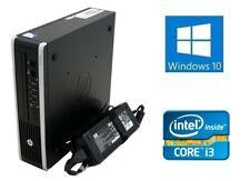 Fast Cheap HP Ultra Small 8200 500Gb 8GB Core i3 Windows 10 PC Desktop Computer