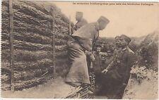 AK WW1  guerra mondiale tedesca periodo 1914-1918 militari tedschi in trincea