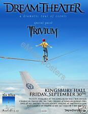 "DREAM THEATER / TRIVIUM ""DRAMATIC TOUR OF EVENTS"" 2011 SALT LAKE CONCERT POSTER"