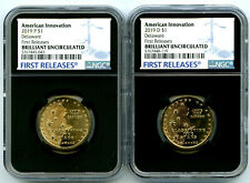 2019 P D DELAWARE NGC BRILLIANT UNC INNOVATION DOLLAR SET FIRST RELEASES
