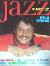 JAZZ MAGAZINE 315 SHAD COLLINS MISHA LOBKO EDDY LOUISS GIANLUIGI TROVESI 1983