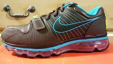 1dad62008b04f NIKE AIR MAX 360 TRAINING LOW MENS SZ 8.5 BROWN BLUE-PINK NWB