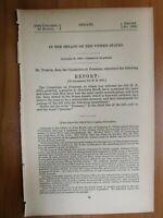 Government Report 1/31/1889 John Ruoff Company F 38th IN Volunteers War Injury