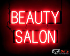 SpellBrite Ultra-Bright BEAUTY SALON Sign Neon-LED Sign (Neon look, LED power)
