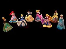 Jim Shore Complete 8 Statue Disney Princess Castle Dress Set! Belle-Elsa-Ariel!
