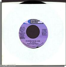 """Angelic Gospel Singers -- I'm Bound For Mt. Zion + All I Need is in Jesus - 7"""""""