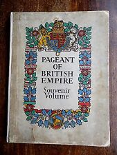 1924 Pageant Empire Spectacular Illustrations Brangwyn Gill 110cms Panorama Map
