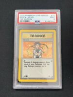 Pokemon Brock 15/132 1st Edition Holo Rare Gym Heroes PSA 9 Mint