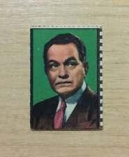 FIGURINE ATTORI NANNINA - ANNI '50 - EDWARD G. ROBINSON - RADIO / FILMS - USED