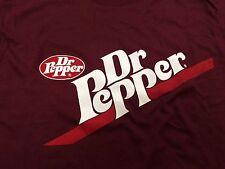 Dr. Pepper Screen Stars Marke NEU NOS Large T-Shirt 20 x 24