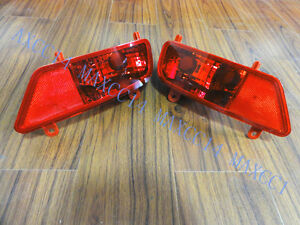 Pair Rear Bumper Lights Tail Lights Lamps Left and Right side For PEUGEOT 3008
