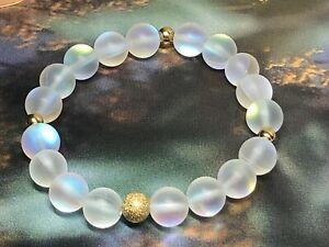 Drops Of Moonlight Mermaid Glass Stretch Bracelet NWOT FREE SHIPPING