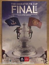 2016 FA CUP FINAL PROGRAMME *(MANCHESTER UNITED V CRYSTAL PALACE)* (21/05/2016)