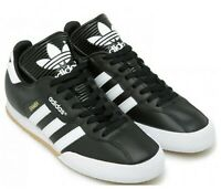 Adidas Mens Trainers Originals Samba Super Casual Shoes Sneakers Black UK Size