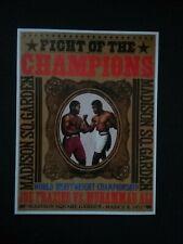 Joe Frazier V Muhammad Ali 2 Undefeated Champs 1971 (ver descripción 4 detalles)