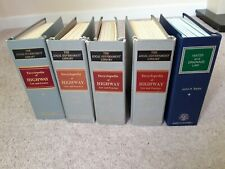 5 x Water / Drainage / Highway Law Sweet and Maxwell / John H. Bates