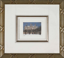 Liudmila Kondakova - Chambord Snowfall , Lithograph, Framed