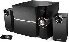 2.1 Soundsystem EDIFIER C2XD Lautsprechersystem Schwarz Fernbedienung