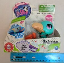 Littlest Pet Shop Sweetest Sweet Snackin Pets Toucan #3080 - needs batteries