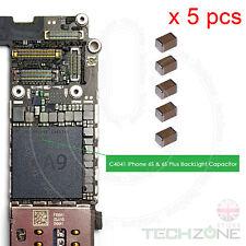 5 x Condensatore retroilluminazione C4041/C4043 2.2UF 20% 35 V per iPhone 6 S & 6 S Plus