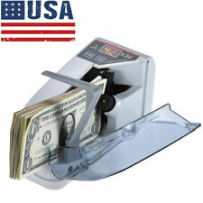 Mini Handy Bill Cash Banknote Counter Money Currency Counting Machine Fast Ship