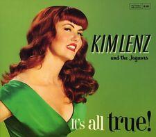 Kim Lenz, Kim Lenz & the Jaguars - It's All True [New CD]